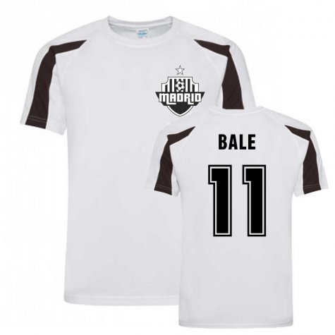 Gareth Bale Madrid Sports Training Jersey (White)