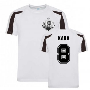Kaka Madrid Sports Training Jersey (White)