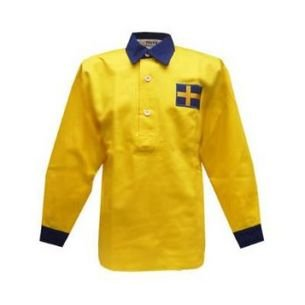 Sweden 1950s Retro Football Shirt