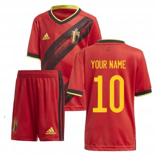 2020-2021 Belgium Home Adidas Mini Kit (Your Name)