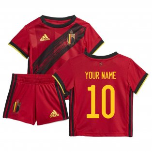 2020-2021 Belgium Home Adidas Baby Kit (Your Name)