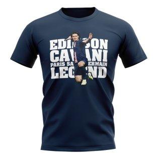 Edinson Cavani Paris Player T-Shirt (Navy)