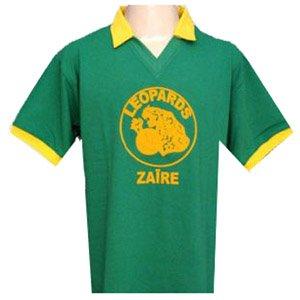 Zaire 1974 World Cup Retro Football Shirt