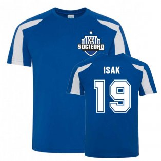 Alexander Isak Sociedad Sports Training Jersey (Blue)