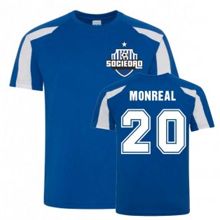 Nacho Monreal Sociedad Sports Training Jersey (Blue)