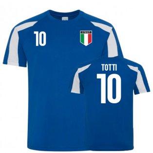 Italy Sports Training Jersey (Totti10)