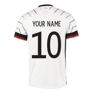 2020-2021 Germany Home Adidas Football Shirt (Your Name)