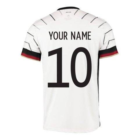 2020-2021 Germany Home Adidas Football Shirt (Kids) (Your Name)