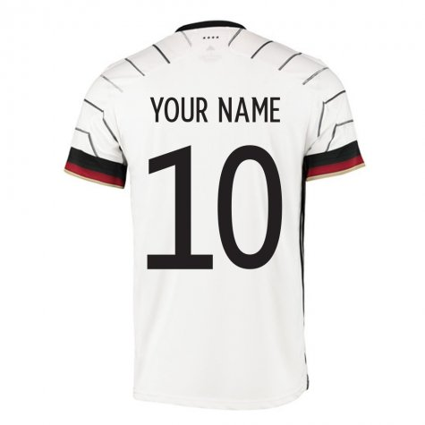 2020-2021 Germany Authentic Home Adidas Football Shirt (Your Name)