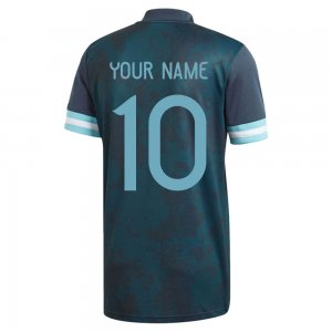 2020-2021 Argentina Away Adidas Football Shirt (Your Name)