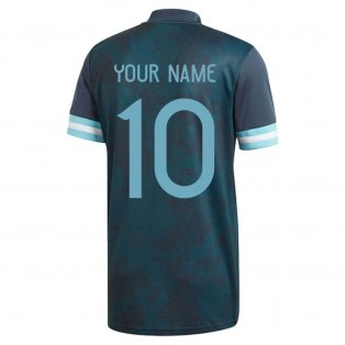 2020-2021 Argentina Away Adidas Football Shirt (Kids) (Your Name)