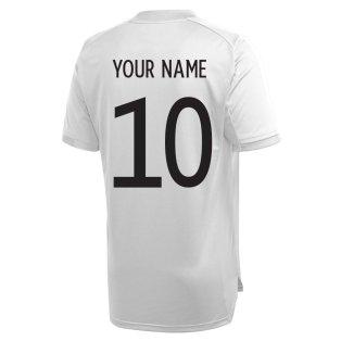 2020-2021 Germany Adidas Training Shirt (Grey) (Your Name)