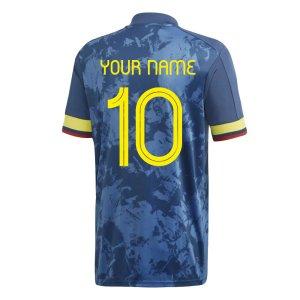 2020-2021 Colombia Away Adidas Football Shirt (Your Name)