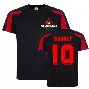 Wayne Rooney Washington Sports Training Jersey (Black)