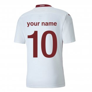 2020-2021 Switzerland Away Puma Football Shirt (Your Name)