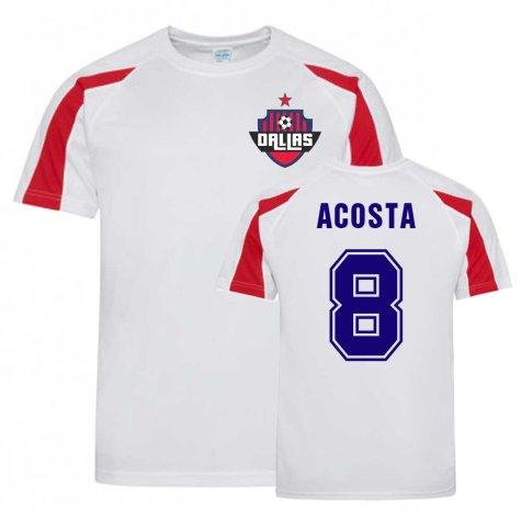 Bryan Acosta Dallas Sports Training Jersey (White)