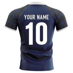 2019-2020 Scotland Home Concept Rugby Shirt