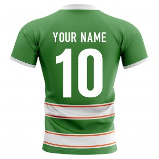 2019-2020 Ireland Home Concept Rugby Shirt (Your Name)