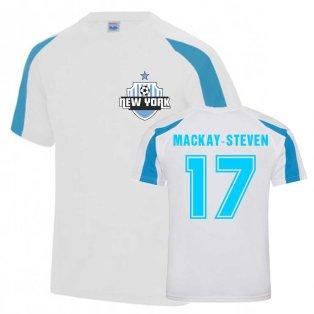 Gary MacKay-Steven New York City Sports Training Jersey (White)