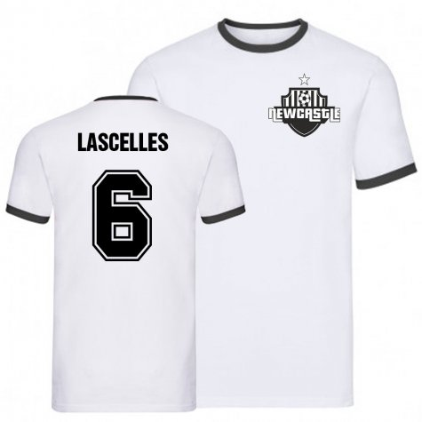 Jamaal Lascelles Newcastle Ringer Tee (White)