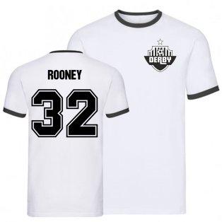 Wayne Rooney Derby Ringer Tee (white)