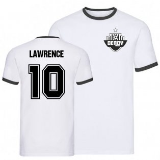 Tom Lawrence Derby Ringer Tee (white)