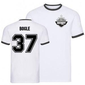 Jayden Bogle Derby Ringer Tee (white)