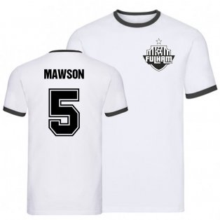 Alfie Mawson Fulham Ringer Tee (White)