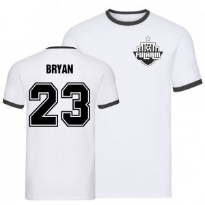Joe Bryan Fulham Ringer Tee (White)