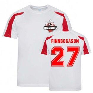 Alfred Finnbogason Augsburg Sports Training Jersey (White)