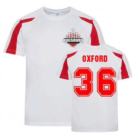 Reece Oxford Augsburg Sports Training Jersey (White)
