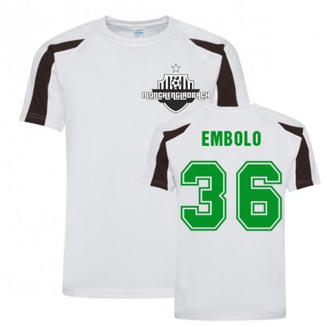 Breel Embolo MGB Sports Training Jersey (White)