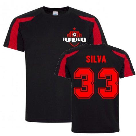 Andre Silva Frankfurt Sports Training Jersey (Black)