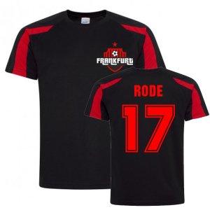 Sebastian Rode Frankfurt Sports Training Jersey (Black)