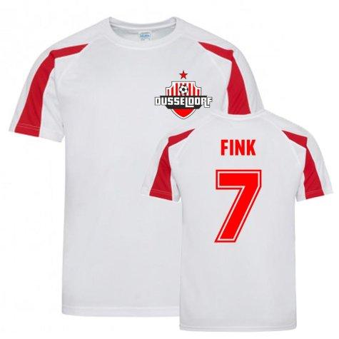 Oliver Fink Dusseldorf Sports Training Jersey (White)