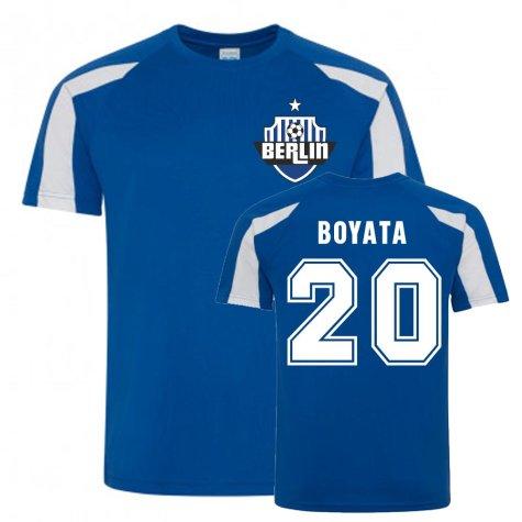 Dedryck Boyata Berlin Sports Training Jersey (Blue)