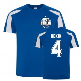 Karim Rekik Berlin Sports Training Jersey (Blue)