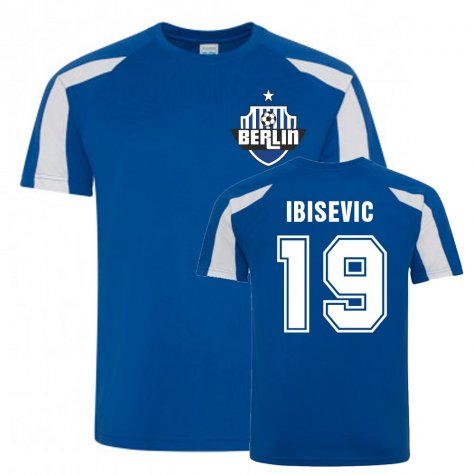 Vedad Ibisevic Berlin Sports Training Jersey (Blue)