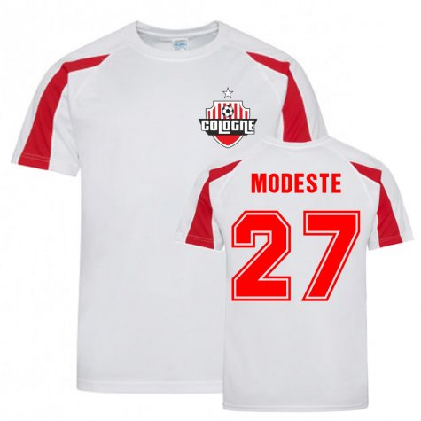 Anthony Modeste Cologne Sports Training Jersey (White)