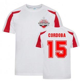 Jhon Cordoba Cologne Sports Training Jersey (White)