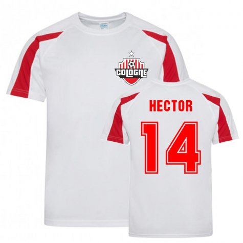 Jonas Hector Cologne Sports Training Jersey (White)