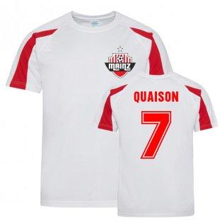 Robin Quaison Mainz Sports Training Jersey (White)