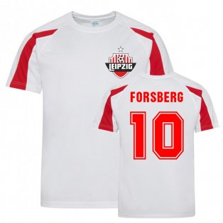 Emil Forsberg Leipzig Sports Training Jersey (White)