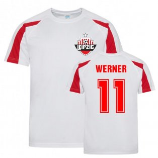 Timo Werner Leipzig Sports Training Jersey (White)