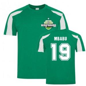 Kevin Mbabu Wolfsburg Sports Training Jersey (Green)