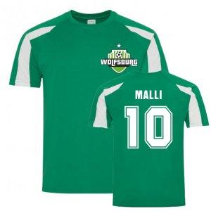 Yunis Malli Wolfsburg Sports Training Jersey (Green)