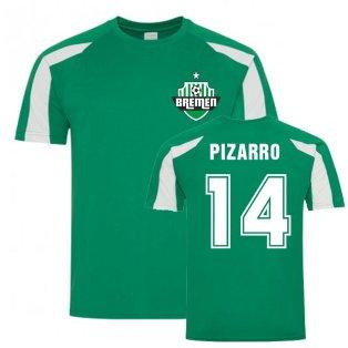Claudio Pizarro Bremen Sports Training Jersey (Green)