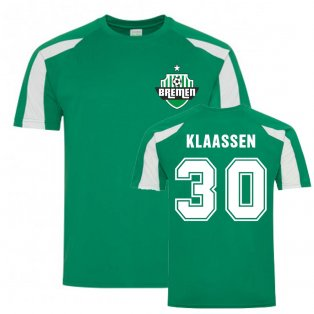 Davy Klaassen Bremen Sports Training Jersey (Green)