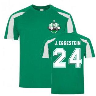 Johannes Eggestein Bremen Sports Training Jersey (Green)