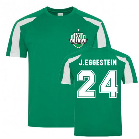 Johannes Eggestein Bremen Sports Training Jersey (Green)